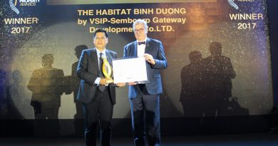 VSIP The Habitat Binh Duong wins Vietnam Property Award