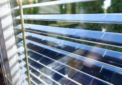 Bước tiến mới của cửa sổ thông minh: Cửa chớp năng lượng mặt trời