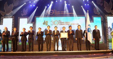 Cty CP Tập đoàn Xây dựng Hòa Bình kỷ niệm 30 năm thành lập và đón nhận Huân chương Lao động hạng Nhì