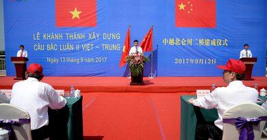 Quảng Ninh: Khánh thành cầu Bắc Luân II Việt -Trung