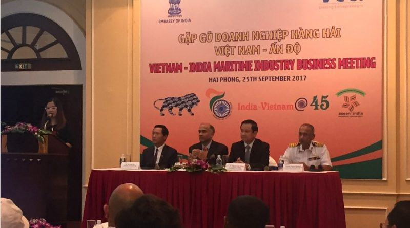 Vietnam - India step up cooperation in shipbuilding