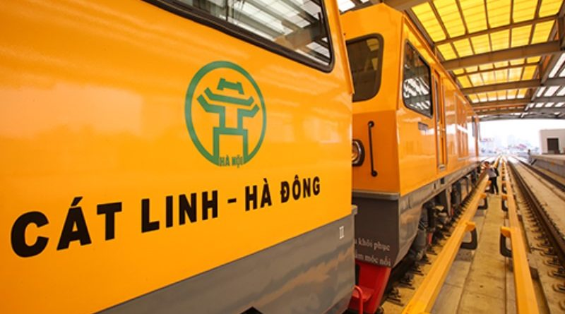 Cat Linh - Ha Dong Metro Line unable to start test runs in October