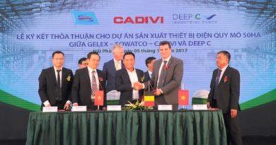 Hải Phòng động thổ Khu Deep C III 260 triệu USD và đón nhà đầu tư đầu tiên