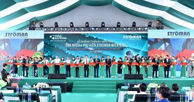Tân Á Đại Thành khánh thành nhà máy tiêu chuẩn CHLB Đức tại Long An