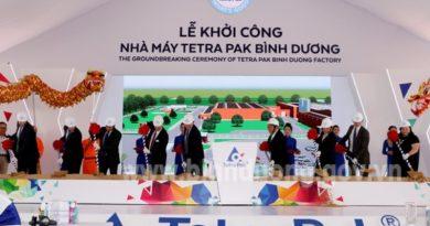 Tetra Pak breaks ground on $110-million factory in Binh Duong