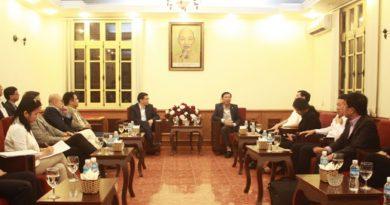 Thường trực Tỉnh ủy Quảng Ninh tiếp đoàn các nhà đầu tư đến tìm hiểu cơ hội đầu tư