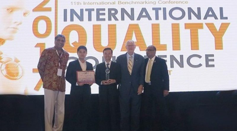 """Tôn Đông Á đạt giải nhất """"Chất lượng quốc tế châu Á - Thái Bình Dương"""""""