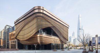 Fosun Foundation - Tòa nhà 'biết động đậy' ở Trung Quốc, du khách thi nhau check-in