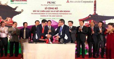 Tập đoàn Mitsubishi và Phuc Khang Corporation hợp tác phát triển công trình xanh