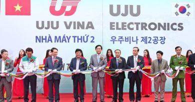 UJU Vina khánh thành nhà máy sản xuất linh kiện điện tử 9,2 triệu USD tại Vĩnh Phúc