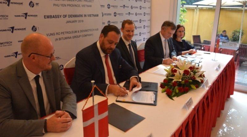 Đan Mạch đưa công nghệ xanh vào Nhà máy chế phẩm dầu mỏ Bitum