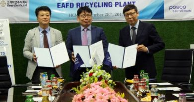 ZOCV and POSCO sign over recycling plant