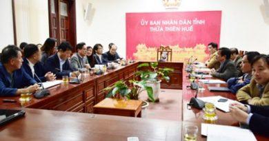 Nhà đầu tư Hàn Quốc tìm hiểu cơ hội đầu tư tại Thừa Thiên - Huế