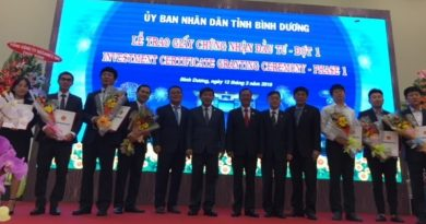 Binh Duong grants investment certificates to 18 companies