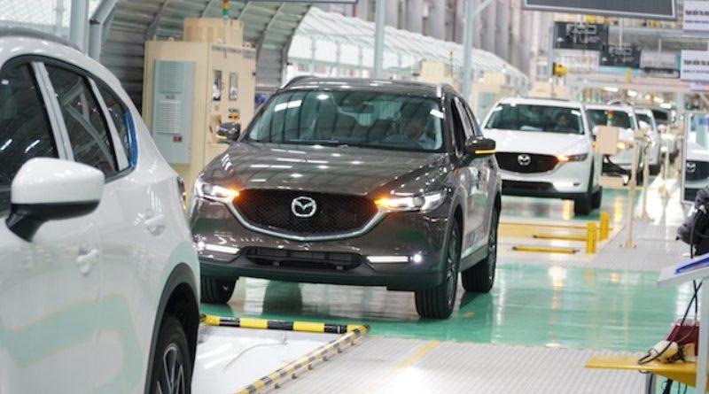 """""""Đột nhập"""" nhà máy sản xuất xe Thaco Mazda hiện đại nhất Đông Nam Á vừa khánh thành"""