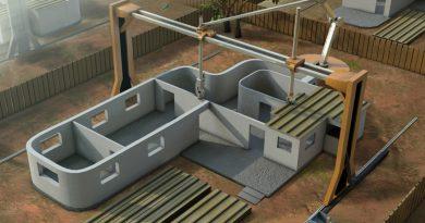 Mất 3 ngày làm xong ngôi nhà 3D: Tương lai nào cho ngành xây dựng ?