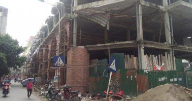 Ô nhiễm môi trường từ công trình xây dựng