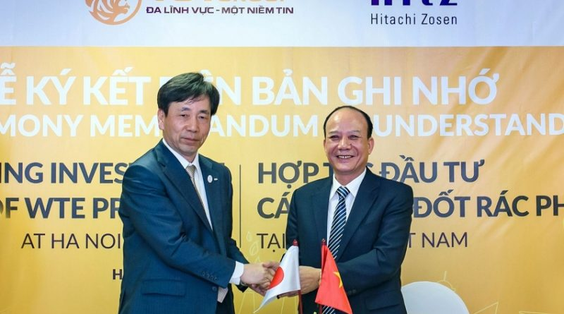 T&T and Hitachi Zosen to develop waste-to-power plant in Hanoi