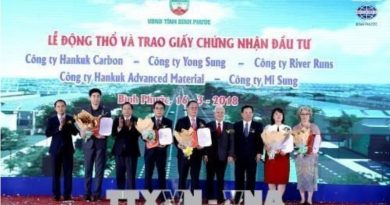 Work starts on five Korean invested projects in Binh Phuoc