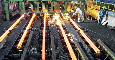 The steel manufacturing line of VIS