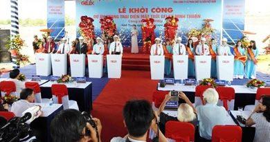 Ninh Thuan solar farm