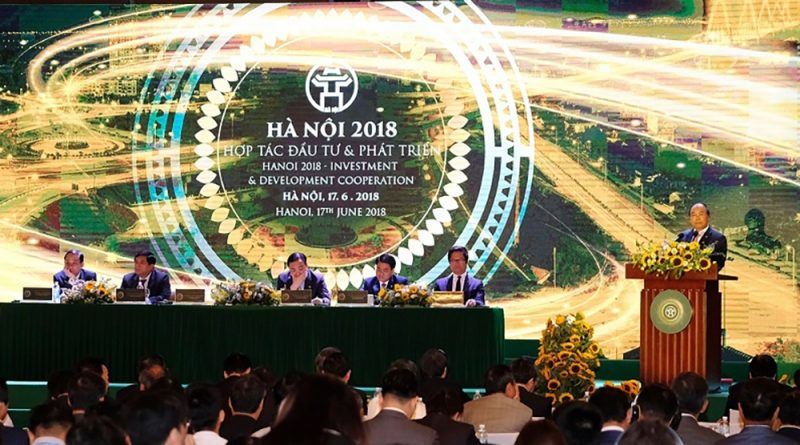 Hanoi licenses $5.4 billion worth of FDI projects today