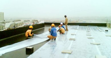 trần nhà bê tông