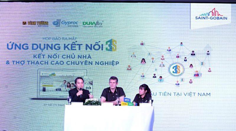 Saint – Gobain Việt Nam lần đầu tiên ra mắt ứng dụng kết nối 3S