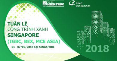 Tuần lễ Công trình xanh Singapore
