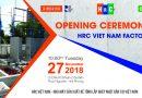Khánh thành Nhà máy sản xuất bê tông lắp ghép công nghệ Nhật Bản – HRC Việt Nam