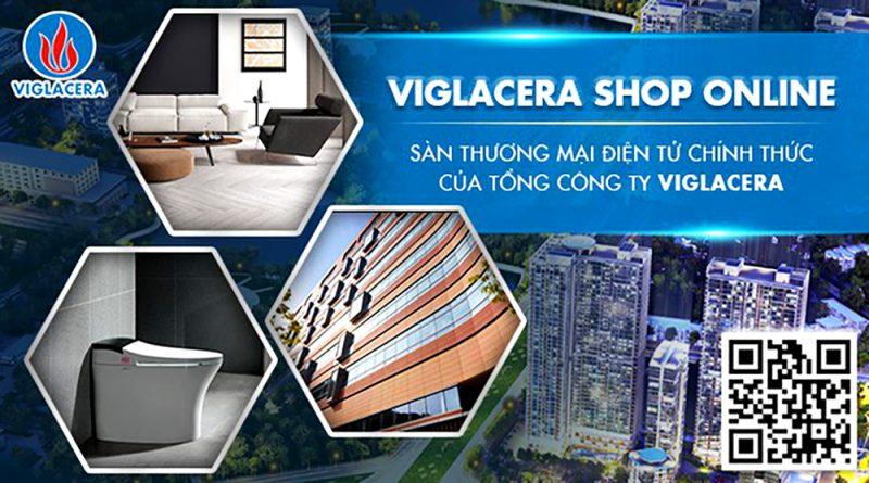 Viglacera ra mắt Sàn thương mại điện tử Viglacera Shop Online