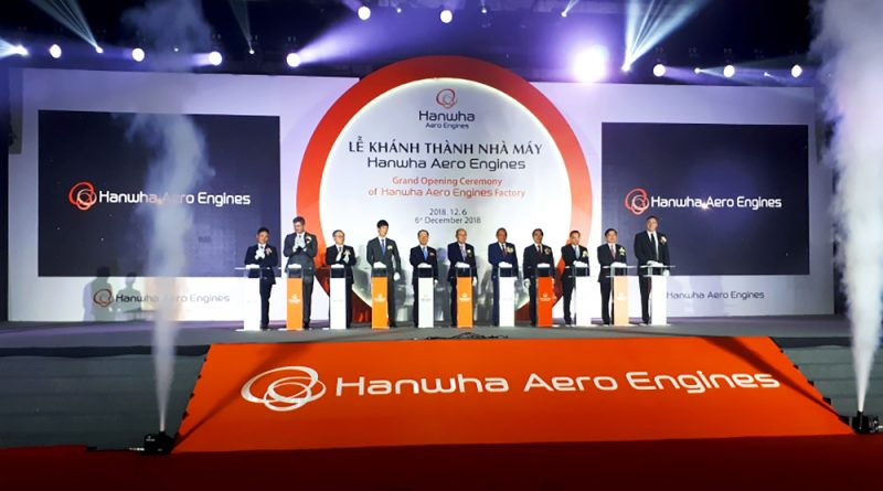 First foreign-invested aero engine project starts operation in Vietnam