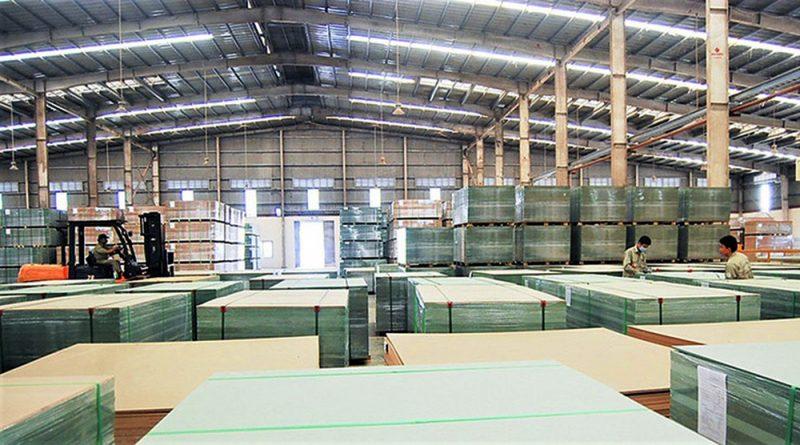 Nhà máy sản xuất gỗ