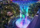 Sân bay Changi (Singapore) sắp khánh thành tổ hợp với thác nước 40m trong nhà