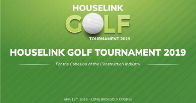 HOUSELINK GOLF TOURNAMENT 2019 – Vì sự gắn kết ngành xây dựng