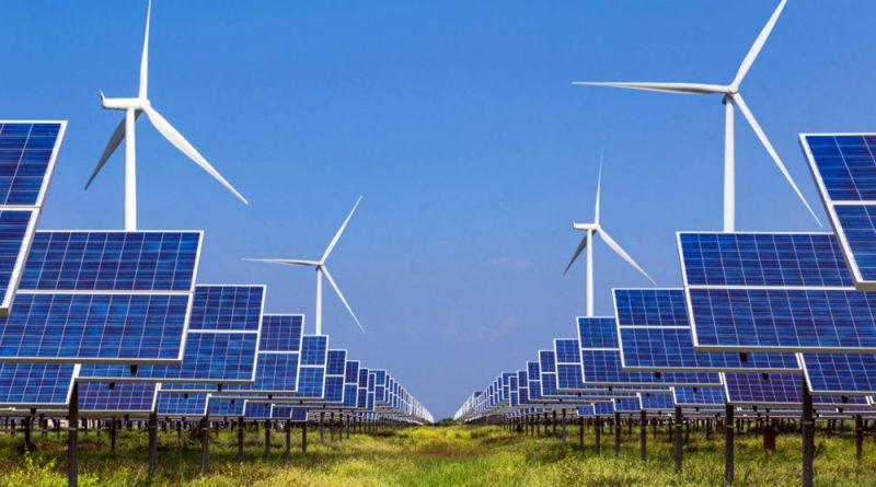 điện gió, điện năng lượng mặt trời