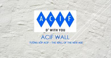 Tường gạch xốp ACIF, giải pháp mới cho các công trình xây dựng