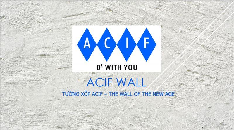 Tường gạch xốp ACIF