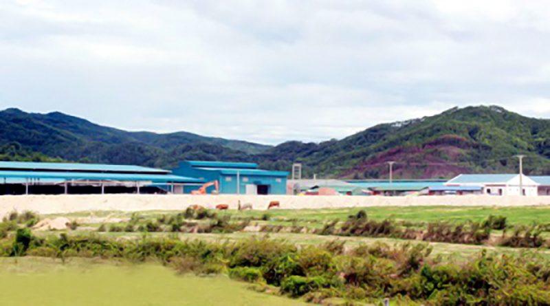 cụm công nghiệp Khe Cò