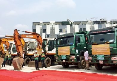 Work starts on Japanese-invested apartment buildings in Hai Phong