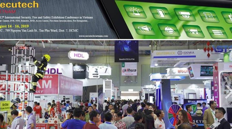Secutech Vietnam 2019: New Smart Factory Conference to
