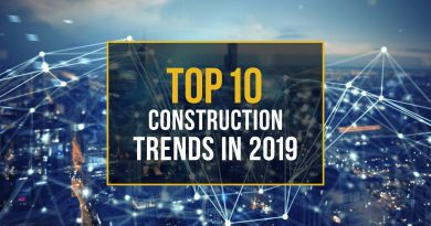 Ten Construction Industry Trends in 2019