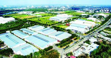 The capital city strives to expand modern industrial parks