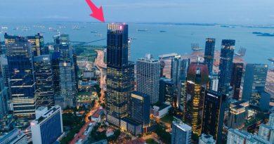 Choáng ngợp tòa nhà Guoco Tower cao nhất Singapore