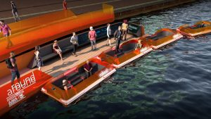 The World's First Dynamic Bridge and Autonomous Boats in Amsterdam