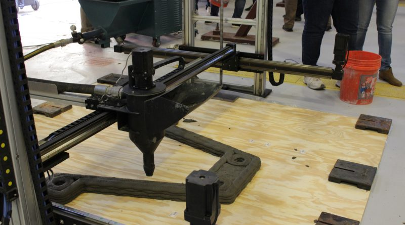 3D concrete printing technology, VR ladder training and more