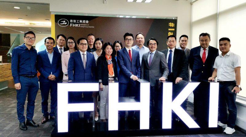 HOUSELINK tại phiên họp với Liên đoàn Công nghiệp Hồng Kông FHKI