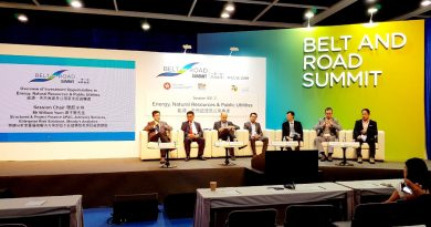 HOUSELINK interacting with the guests at the Belt and Road Summit 2019