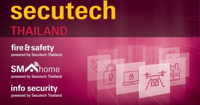 Triển lãm Secutech Thái Lan 2019