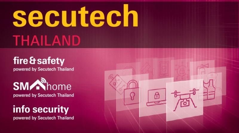 Triễn lãm Secutech Thailand 2019